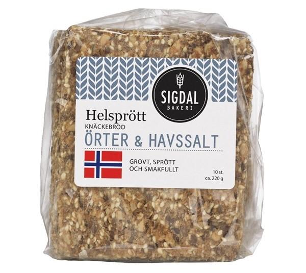 Sigdal Bakeri Knäckebröd Hellbird.se